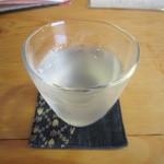 一東菴 - 「冷酒」1合