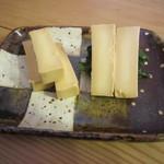 一東菴 - 「チーズかえし漬け」