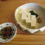 一東菴 - 「蕎麦豆腐」