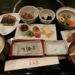 東海亭 - 朝食の和定食