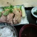 17206348 - 牡蠣フライ定食