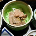 博多石焼 大阪屋 - 肉サラダ
