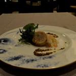 モンスレー - 鹿児島産若鶏の軽いスモ―ク サラダ仕立て 小エビとともに