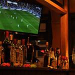 サンブラッシュ - スポーツ観戦ができる50インチの大型スクリーンあり