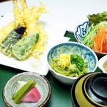 魚ごころ - 天ぷら定食