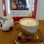 まめcafe - 豆乳ラテ