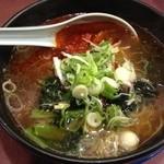 韓国ラーメン 明洞 - 明洞ラーメン(醤油)