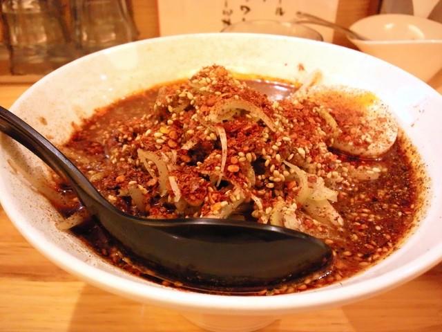 かつぎや - 黒胡麻担担麺5辛