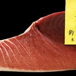 太助寿し - 鮪は寿司の要なので、季節ごとに最上級のものを使用(画像は大間の120キロ)