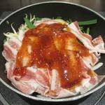 肉屋の正直な食堂 - 豚肉のスタミナ焼き調理前