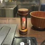 肉屋の正直な食堂 - 砂時計