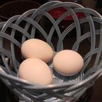 肉屋の正直な食堂 - 卵ケース