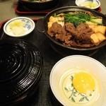17216379 - すき焼き定食