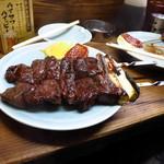 かとりや - 牛大串(塩)350円