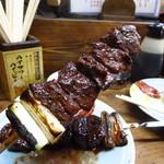 かとりや - 牛大串(タレ)350円