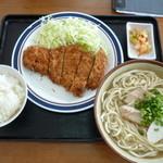 みはま食堂 - 沖縄そばセット