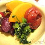 日本料理レストラン RAKU - 漬け物盛り合わせ