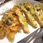 日本料理レストラン RAKU - 山菜天麩羅
