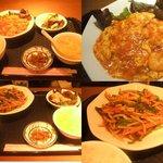 chuukaryourihisuien - エビチリ定食\800チンジャオロースー定食\750