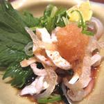 日本料理レストラン RAKU - 河豚皮の湯引き
