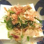 日本料理レストラン RAKU - 冷や奴