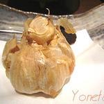 日本料理レストラン RAKU - ニンニクの丸揚げ