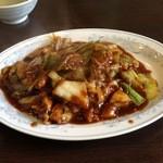 17220849 - 回鍋肉セット (630円)
