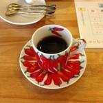 コーヒ豆 琥珀 - サービスで頂いたエスプレッソ