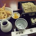 神田 味喜庵 - 小天丼と手打ち蕎麦