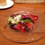 トラットリア リオコルノ - 前菜盛り合わせ