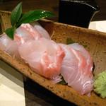 かもすや酒店 - 真鯛の刺身