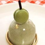 スリーズ - 抹茶と柚子のムース 30円