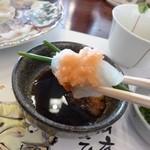 日間賀観光ホテル - 2013.02 てっさを食べています、、、うまし♪
