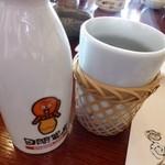 日間賀観光ホテル - 2013.02 次酒はセットに入っています。上手く考えているというか何というか、、微妙