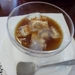 日間賀観光ホテル - 2013.02 デザートはくずきりでヘルシ~
