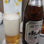 九麗瑠 - ビール(中瓶):500円