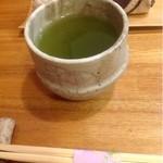 巻の禪 - お茶とお箸