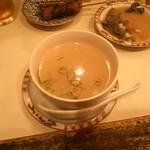 和風もつ料理 あらた - テールスープ