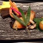 17231203 - 焼き八寸 銀鱈の西京焼き