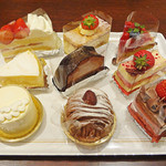 66DINING 六本木六丁目食堂 - ケーキ各種