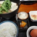 さくら亭 - 馬鍋定食