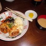豊平探偵団 - ピグレット丼 並盛   500円