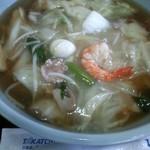 17234323 - 広東麺580円
