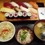 宝寿司 - にぎり定食(2010.8)