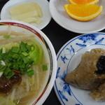 台湾風味 ミスターヤン - 台南ちまき、台湾屋台米粉:850円