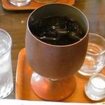 珈琲屋伊万里 - アイスコーヒー 450円