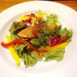 Tenerezza - 前菜(スモークサーモンのサラダ)