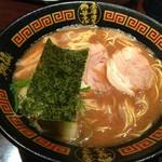 神仙 - 濃厚醤油豚骨中華そば、650円