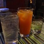 ソルアミーゴ - ジントニック、オレンジブロッサム、ジンライム