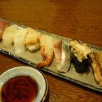 弥助寿司 - 地魚にぎり